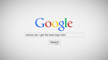 Google Search Internet Promo Logo Reveal Intro Template After Effect