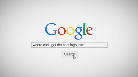 Google Search Internet Promo Logo Reveal Intro After Effects Template