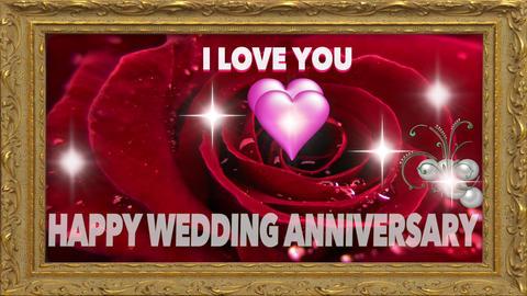 Wedding Anniversary - I LOVE YOU Footage