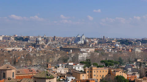 Monumento a Vittorio Emanuele II (Vittoriano). Zoom Footage