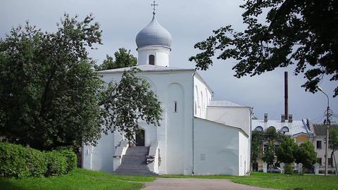 Russian Church 17th century Footage