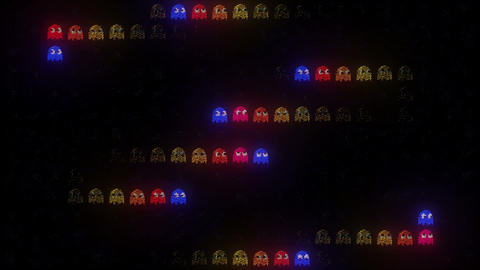 Arcade LED In the Dark Animation