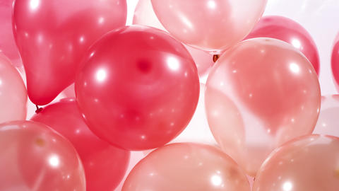 Party colorful balloons Footage
