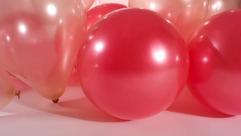 Party colorful balloons motion background Footage