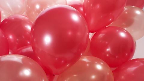 4k, anniversary, background, balloons, beautiful, birthday, celebration, colorfu Footage