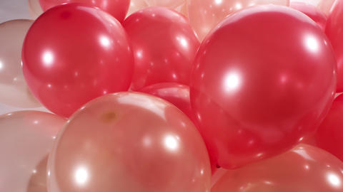 Party balloons motion background 4k Footage