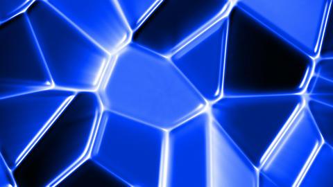 Blue glass mosaic Animation