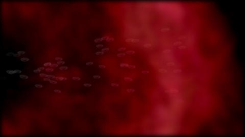 microbes 3 8 red Animation