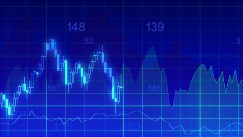 economy graph 4k loop 1 Animation