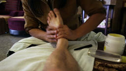 Thai foot Massage Footage