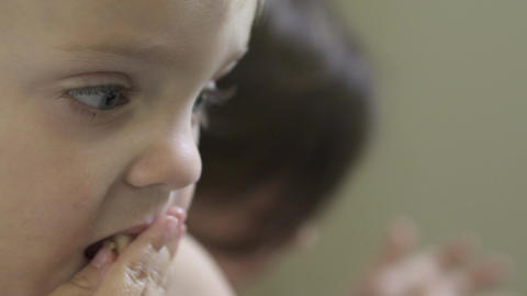 Scenes Of Children Eating (1 Of 8) stock footage