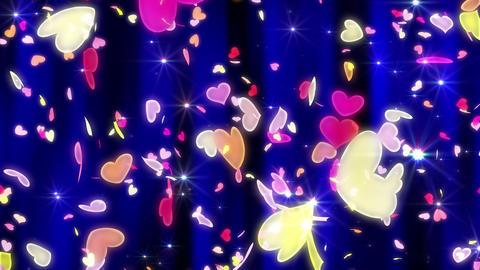 Heart neon p tornado Cw 4 K Animation