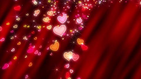Heart neon p tornado Jb 4 K Animation