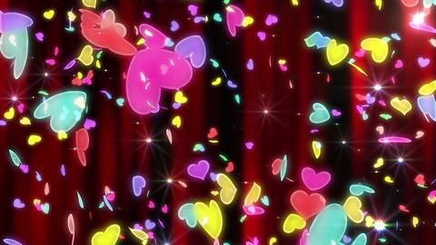 Heart neon r tornado Aw 4 K Animation