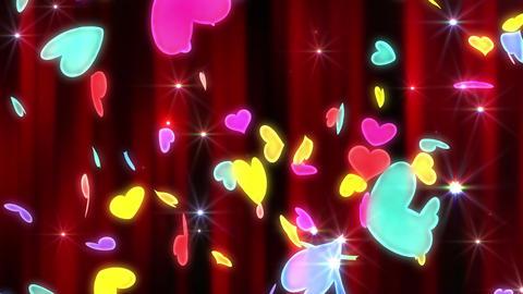 Heart neon r tornado Ew 4 K Animation