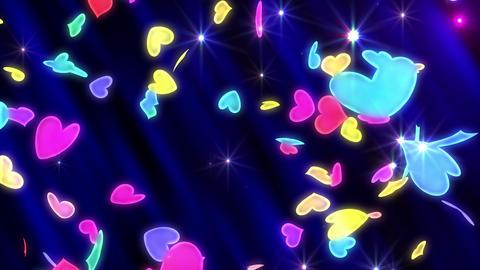 Heart neon r tornado Fw 4 K Animation