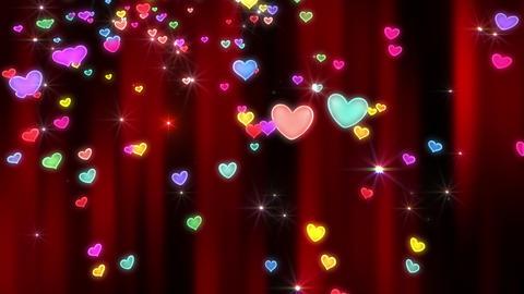 Heart neon r tornado Ja 4 K Animation