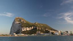 gibraltar rock timelapse 4k Footage
