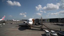 plane nose airport flight airplane travel Footage