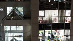 office skyscraper tokyo workers work 4k Footage