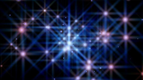 Particle Star Loop 2 stock footage