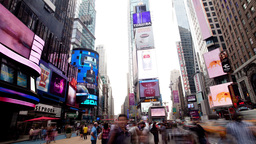 times square manhattan new york Footage