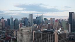 new york skyline manhattan NYC ny timelapse Footage