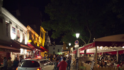 montmartre at night, paris france Footage