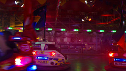BUMPPER CARS stock footage