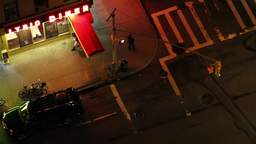 Nyc Manhattan Traffic stock footage