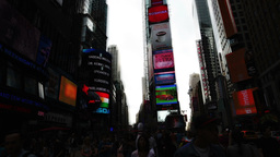 timelpase times square new york manhattan Footage