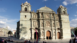 oaxaca church mexico Footage