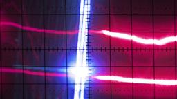 oscilloscope graphics Footage
