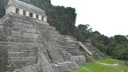 mayan ruins mexico palenque Footage