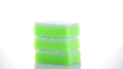 Kitchen sponges Footage