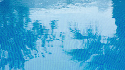 Closeup Swimming Pool Holidays stock footage