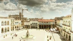 plaza vieja habana cuba Footage