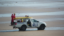 cornwall coast beach life guard sport surfers Footage