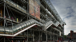 pompidou museum, paris france Footage