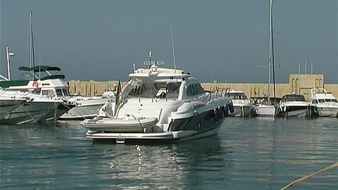 Motor yacht Footage