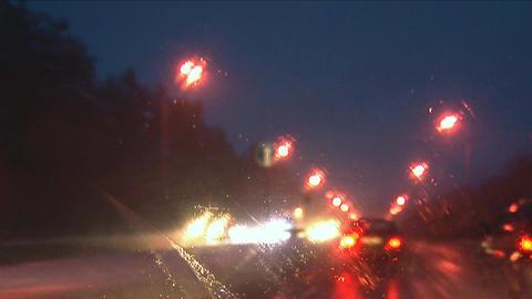 night drive 1 Stock Video Footage