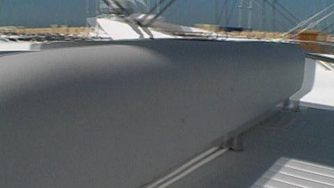 Motoryacht control Stock Video Footage