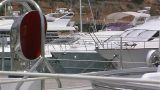 Sailing yacht deck Footage