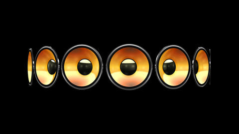 Disco Speaker AB2 HD Animation