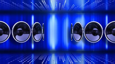 Disco Speaker AC2 HD Stock Video Footage