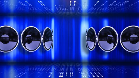 Disco Speaker AC2 HD Stock Video Footage