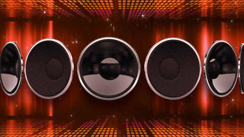 Disco Speaker AD2 HD Stock Video Footage