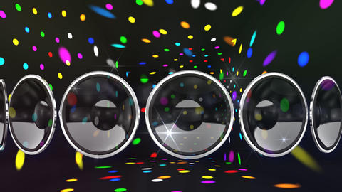 Disco Speaker AL2 HD Animation