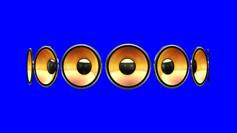 Disco Speaker AM2 HD Animation