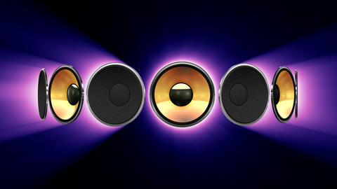 Disco Speaker AS1 HD Animation